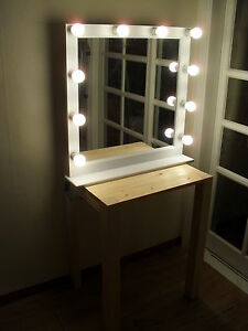 lighting mirror socket 10ea for make up or starlet lighted vanity. Black Bedroom Furniture Sets. Home Design Ideas