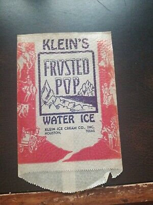1930s Handbags and Purses Fashion Vintage 1930s KLEIN'S FROSTED POP WATER ICE WAX BAG HOUSTON TEXAS $9.99 AT vintagedancer.com