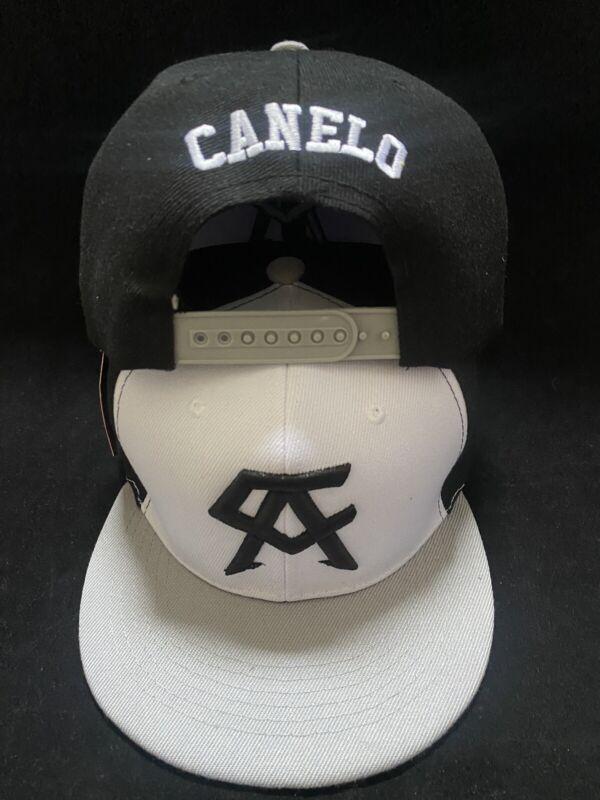 Canelo Alvarez Hat 3 tone Gray brim BOXING CHAMPION SNAPBack New Rare