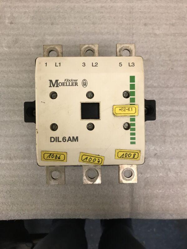 Klockner Moeller DIL6AM Contactor 600V 315A 110/120 Coil