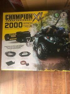Wanted someone to install atv winch