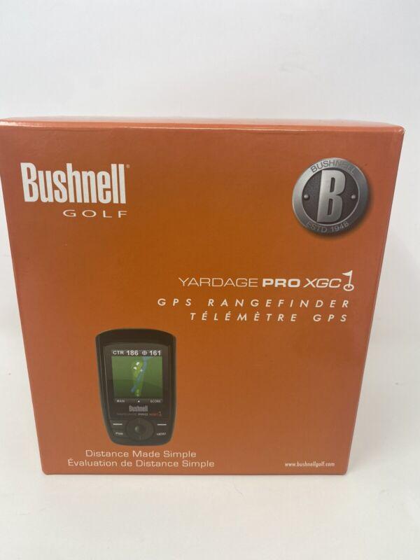 Bushnell Yardage Pro XGC Complete golf range finder case bag manual