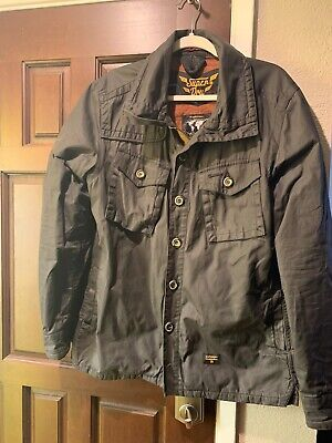 Superdry Jacket Double Wax Style! Just $50