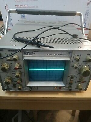 Leader Lbo-514a Dual Trace Oscilloscope 15mhz