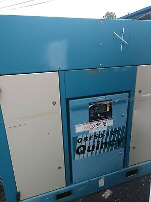 Quincy Rotary Screw Compressor Model Qsf50-125 Two Available Will Ship