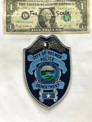 Rarer Palmer Alaska Police Patch Un-sewn great shape