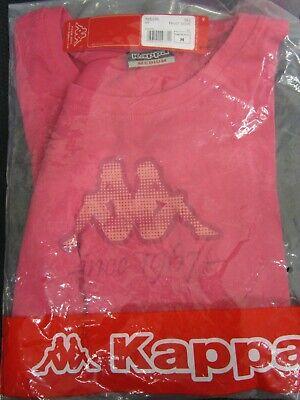 Kappa Damen T-Shirt Größe M pink rosa Kleidung 100% Baumwolle B460