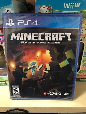 Minecraft ( Playstation 4 / PS4 ) Brand New Factory Sealed