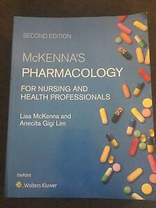 McKenna's Pharmacology for Nursing and Health Professionals Zetland Inner Sydney Preview