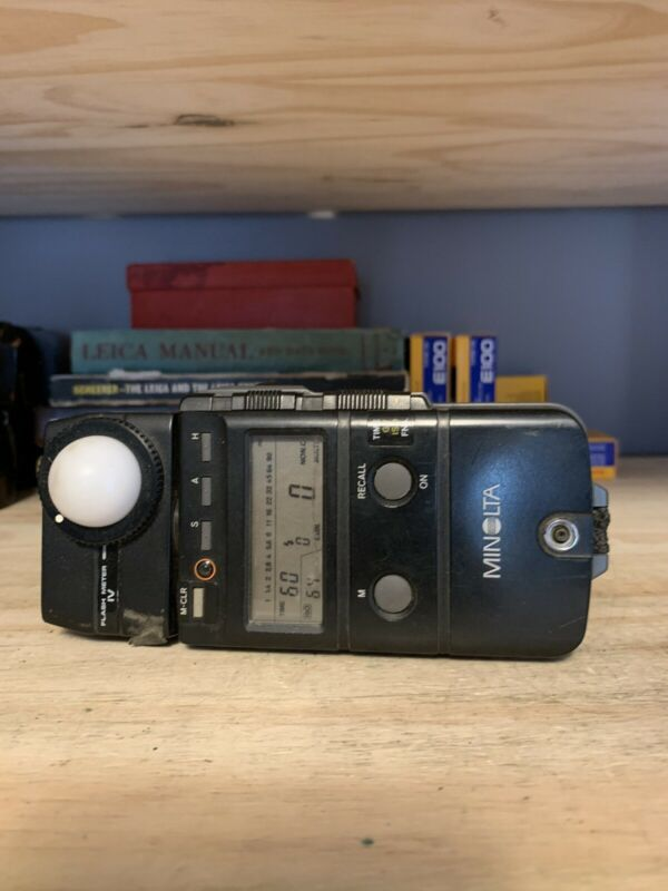 Minolta FLASH METER IV Light Meter