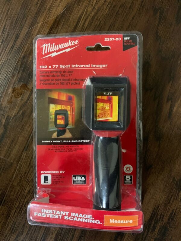 MILWAUKEE 102×77 SPOT INFRARED IMAGER 2257-20 (FACTORY SEALED) FREE SHIPPING