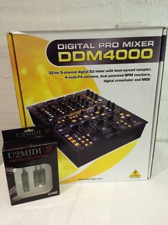 Behringer DDM4000 Digital Mixer + MIDI to USB Cable Airport West Moonee Valley Preview