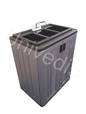 Portable Sink Mobile Self Contained Food Concession 3 Compartment Univedis
