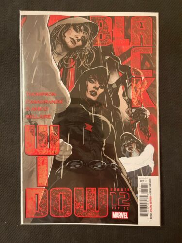 Black Widow #12 *1st App Living Blade* (2021) NM Marvel Comics 1st Print