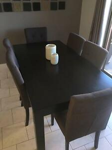 Harvey Norman - 8 seater 9 piece Dining Suite Plympton West Torrens Area Preview