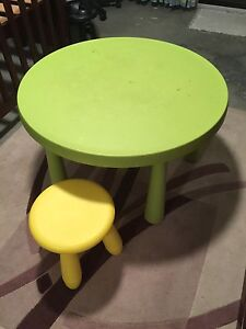 IKEA Mammut Table & Stool Thagoona Ipswich City Preview
