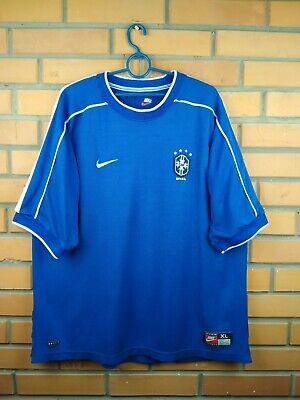 2866be42 Brazil Brasil jersey XL 2000 2002 away shirt soccer football Nike