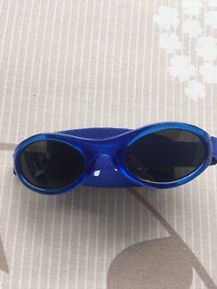 fc587b1f8442 Baby Banz - blue baby sunglasses.  5