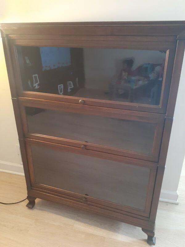 vintage barrister bookcase