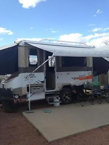 Jayco Swan Outback Alberta Banana Area Preview