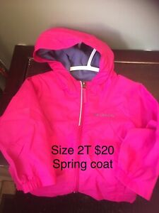 Toddler coats