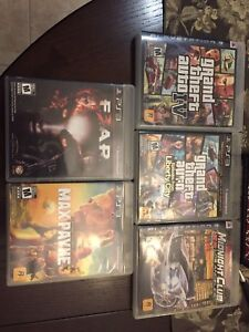 6 PS3 GAMES FOR SALE!!! Only $30