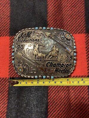 Champion Heeler Trophy Buckle