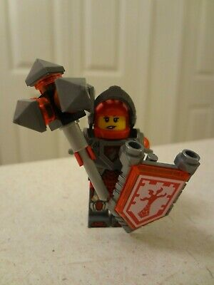 Lego Nexo Knights MACY Minifigure with Weapon and Shield