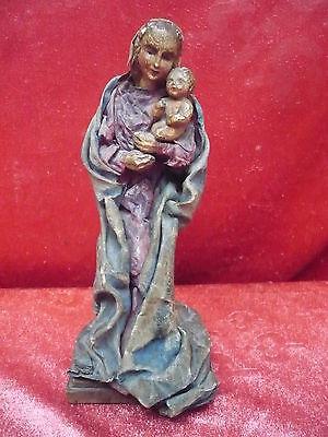 Antique Nativity__Madonna with child __ Wilhelm Fischer-Graf__21cm_
