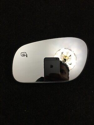1998-2011 GRAND MARQUIS DRIVER LEFT SIDE HEATED DOOR MIRROR GLASS OEM (1405641)
