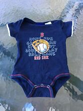 Baby jumpsuit US Red Sox size 00 Appin Wollondilly Area Preview