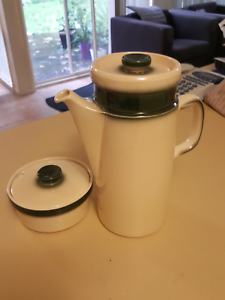 Coffee pot and Sugar bowl Wedgewood 60's Mitcham Whitehorse Area Preview