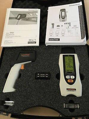 Laserliner Feuchtigkeitsmesser u. Infrarotthermometer