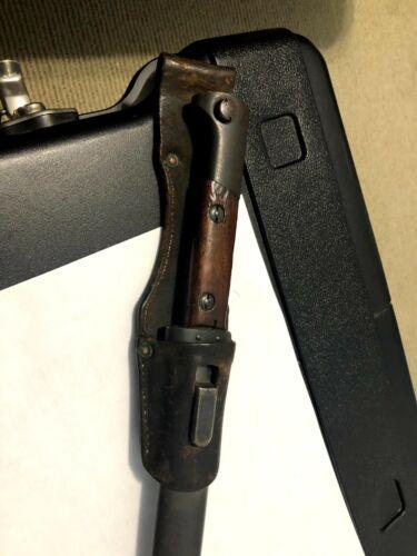 WWII RARE Mauser Czech Bayonet  Original!!!