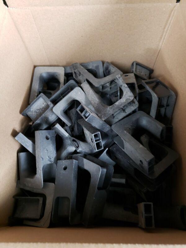 """2"""" J-Hooks, Plastic, 50 pcs per box"""