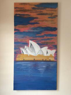 Opera house painting