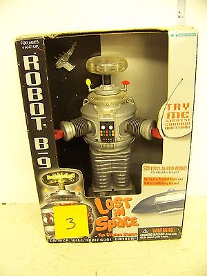 Lost In Space 10in Robot B-9 gray, SILVER GUN #3