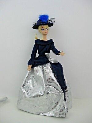 DOLL CLOTHES ONLY, FITS Silkstone Barbie & fashion dolls WINTER VELVET WITH HAT