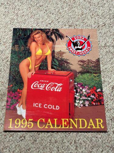 1995 COCA COLA SODA SWEETHEARTS BIKINI CALENDAR MINT CONDITION!!!!