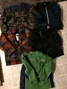 TODDLER JACKETS (size 2)