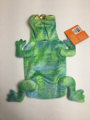 Top Paw Dog Frog Costume - X-Small - Green - NEW - Frog Dog Costume