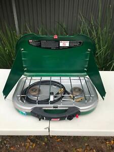 Coleman 2 burner portable gas stove