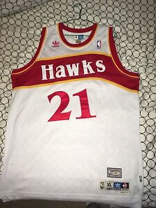 Mint Dominique Wilkins Adidas Jersey