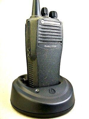 Mint Motorola Cp200 Vhf 16ch Radio Waccessories
