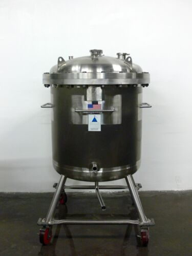 Precision 500 Liter 316L Stainless Steel Reactor / Pressure Vessel  Rated 60 PSI