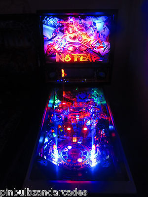 No Fear Complete LED Lighting Kit custom SUPER BRIGHT PINBALL LED KIT