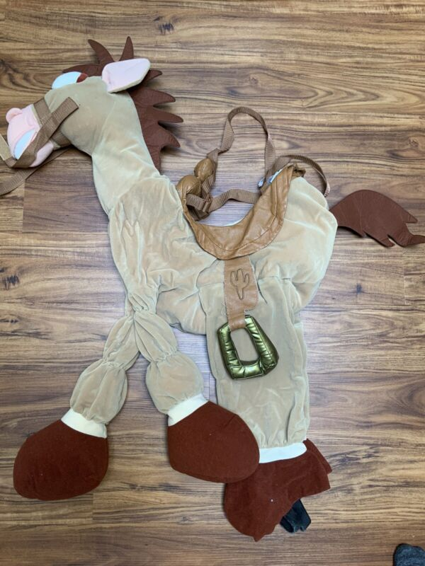 Disney Store HTF Rare Toy Story Bullseye Horse Costume 2-4 2t - 4t
