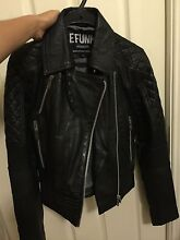 Womens Leather jacket Castle Hill The Hills District Preview