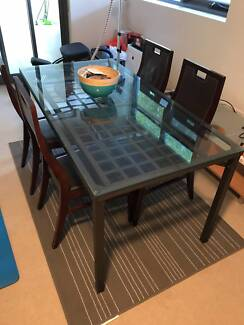 Dinning Table Sales With 4 Wood Chairs 60 Only