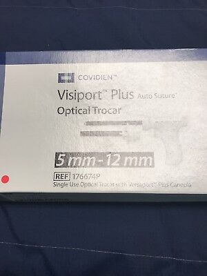 Autosuture Covidien Ref 176674p Visiport Plus 5mm-12mm Single Use